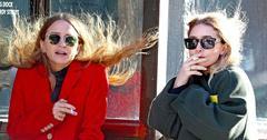 Mary kate ashley olsen freezing smoking NYC main