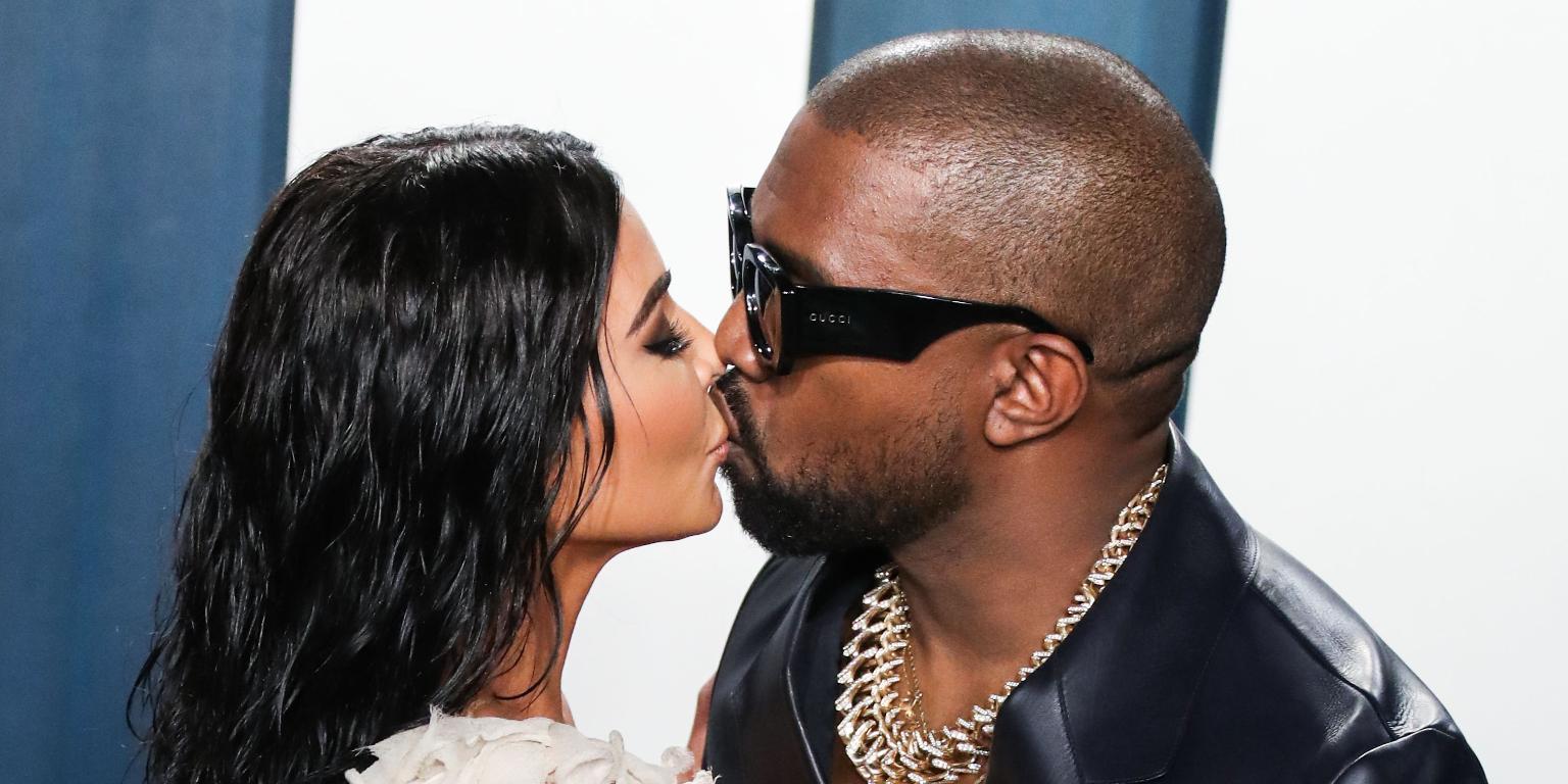 kim kardashian kanye west birthday love u for life divorce