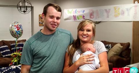 Joseph Kendra Duggar baby Garrett