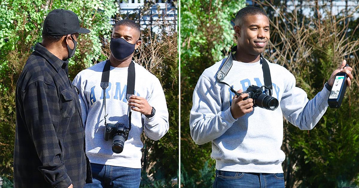 michael b jordan filming journal for jordan