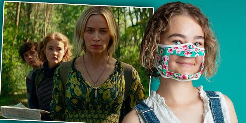 Actress Millicent Simmonds Creates Masks To Help Deaf Community