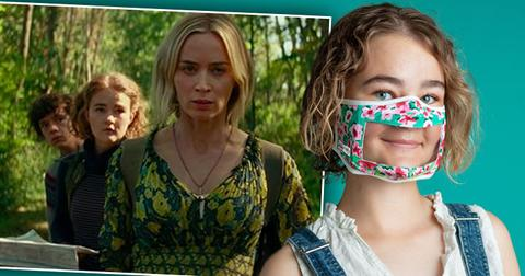 Actress Millicent Simmonds Creates Masks To Help Deaf Community