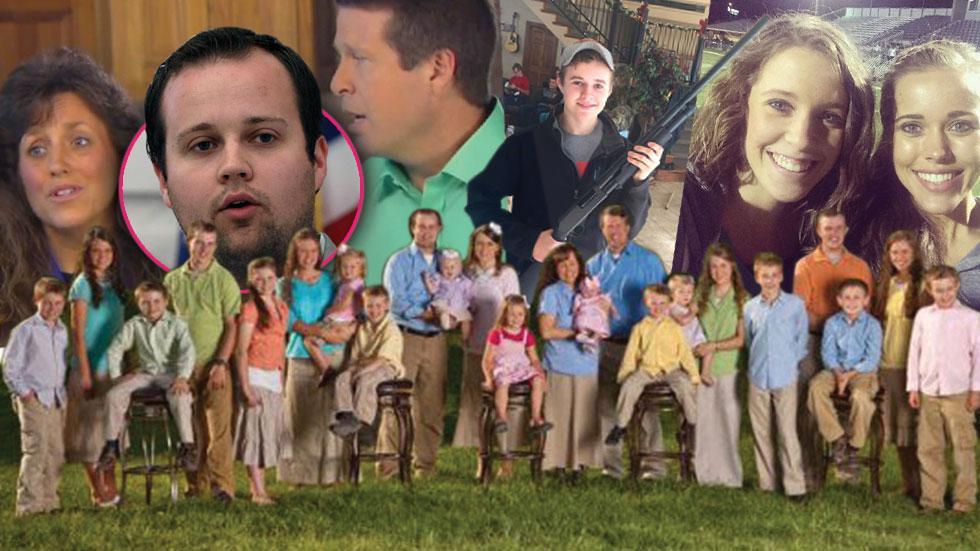 Duggar family secrets scandals 19 kids counting 00 InsTLC