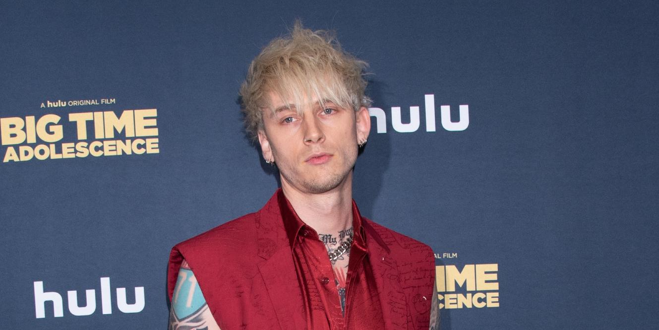 Machine Gun Kelly at the NY Premiere of Big Time Adolescence