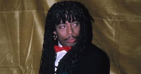Rick James Attending the Urban Contemorary Music Awards at the Savoy Hotel in New York City Januery 21 1983