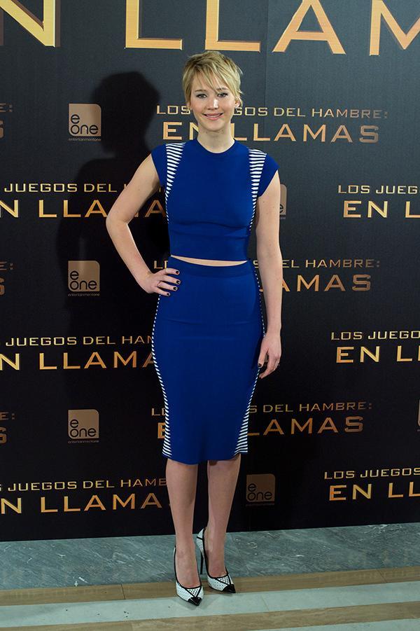 Catching Fire Madrid Premiere Jennifer Lawrence