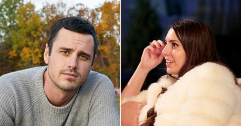 bachelor star ben higgins believes something off villain victoria larson pf