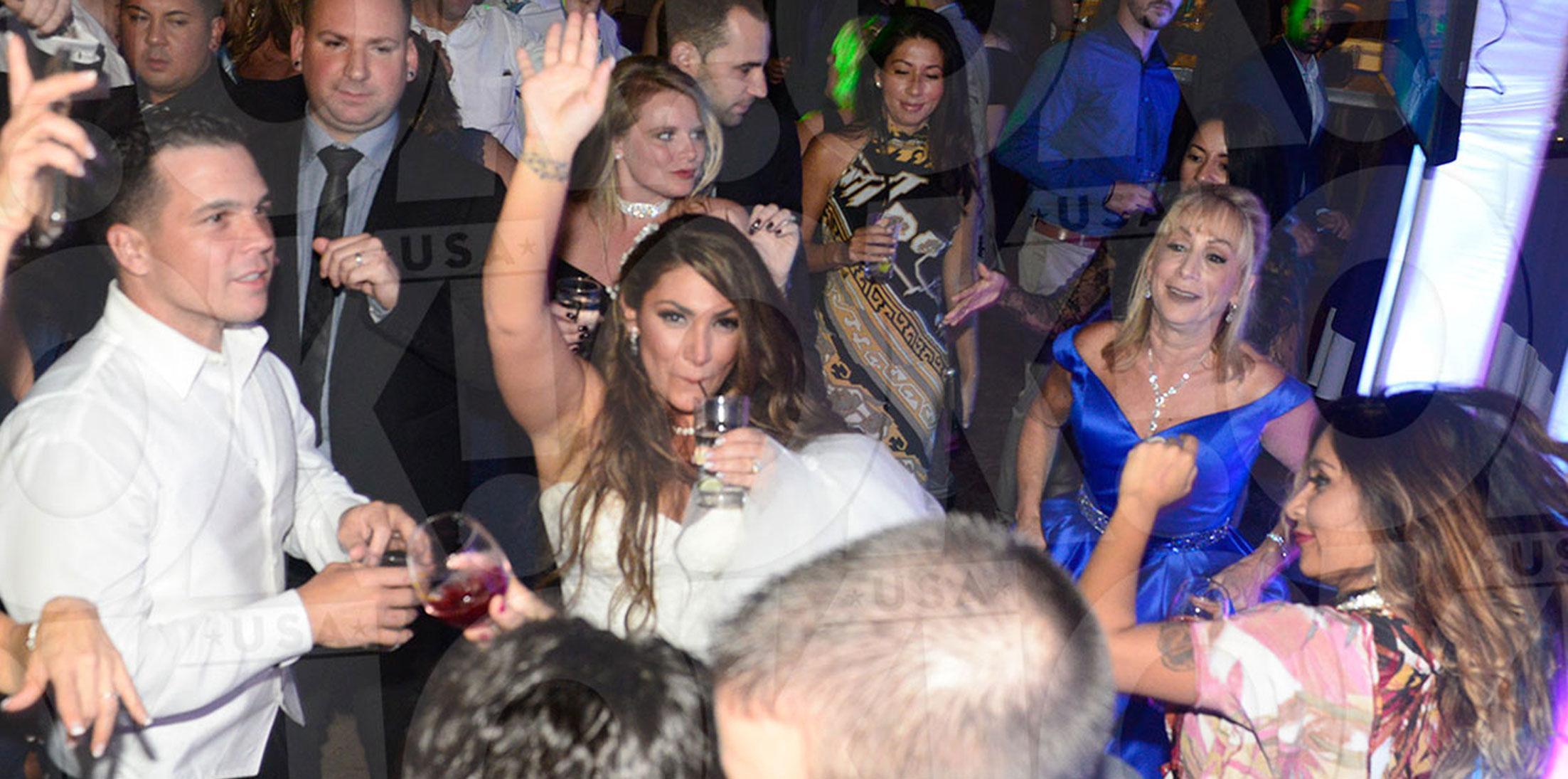 Deena Cortese Wedding Reception Party Pics Wide 1