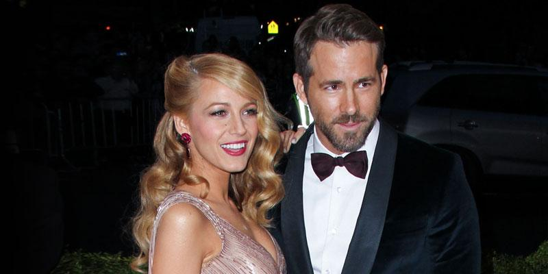 Blake Lively And Ryan Reynolds Smiling