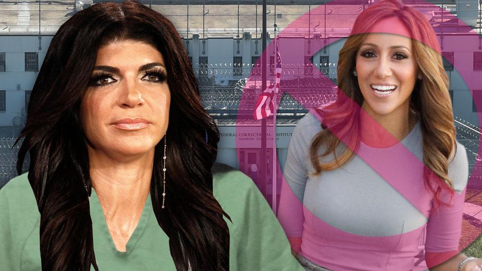 Teresa giudice bans melissa gorgoa visiting her prison