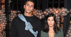 Kourtney Kardashian Younes Bendjima Coffee Meetup PP