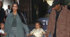 Kim kardashian scolds north west wearing eye shadow main
