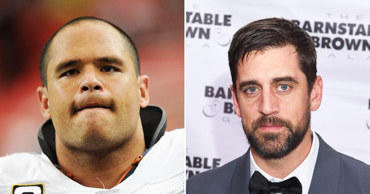 chicago bears legend ready to punch aaron rodgers in the face