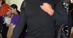Ricky Martin leaves Luis Munoz Marin airport in San Juan, Puerto Rico