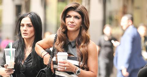 Teresa Giudice Out And About In NYC
