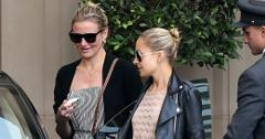 *EXCLUSIVE* Cameron Diaz and Nicole Richie meet up for a girls lunch at the Montage