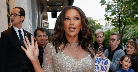 Vanessa Williams arriving at The Global Gift Gala in Paris