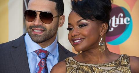 Apollo Nida and Phaedra Parks at the 2011 Soul Train Awards