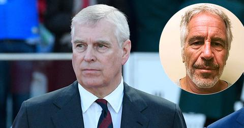 Prince Andrew At Event With Jeffrey Epstein Inset
