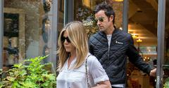Jennifer Aniston & Justin Theroux Out In New York