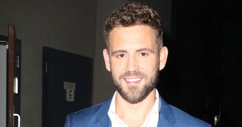 Handsome Bachelor Nick Viall flashes a smile as bright as his suit