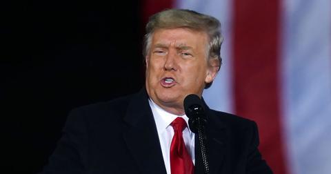 President Donald Trump Blasts Democrats Attempt To Impeach Him Again After Violent D.C. Riots