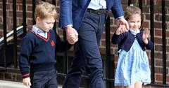 Prince george princess charlotte happy to welcome royal baby