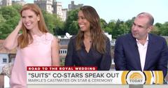 meghan markle suits co stars knew about prince harry first video pp