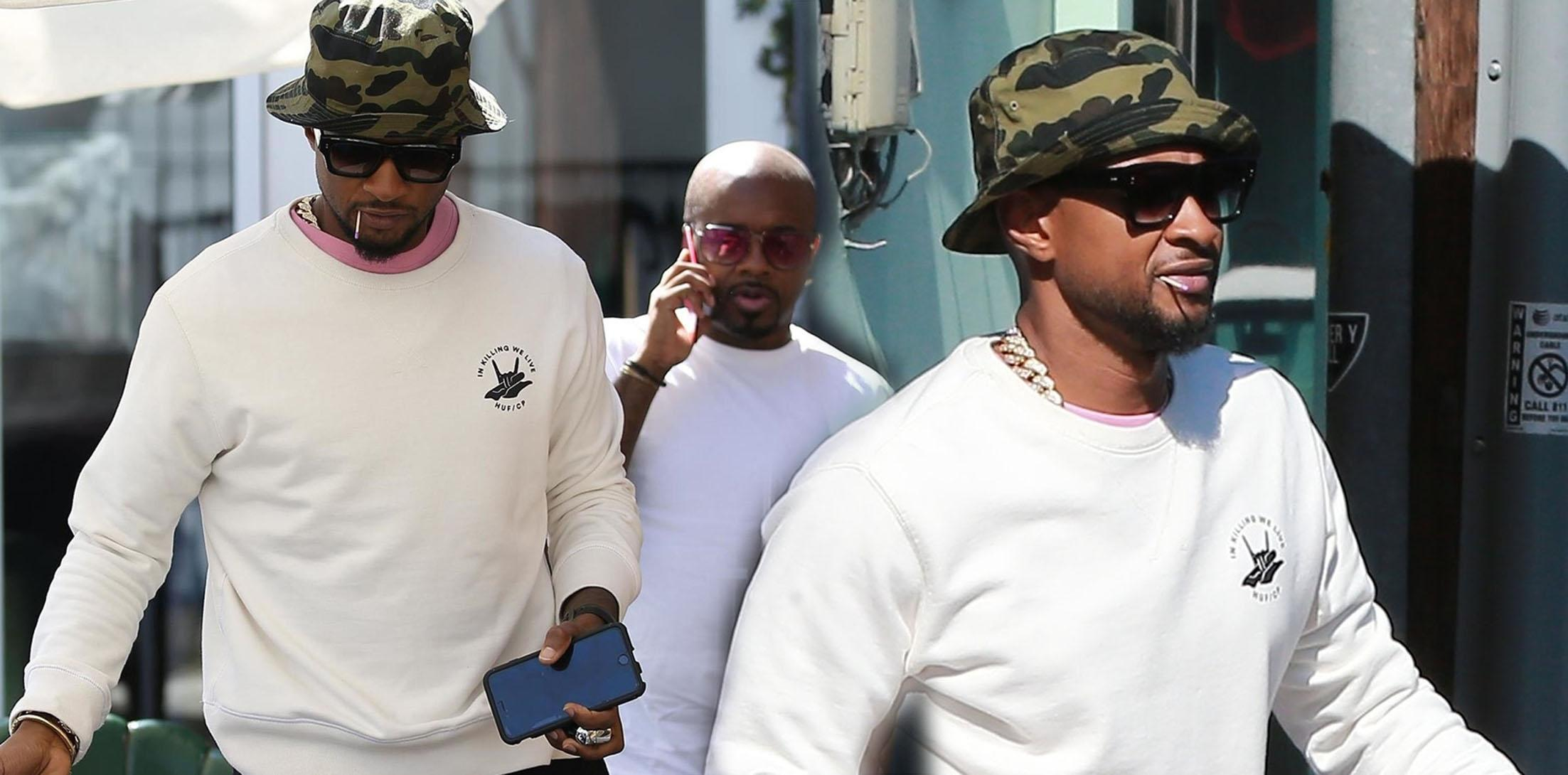 Usher herpes scandal