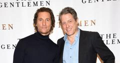 Matthew McConaughey And Hugh Grant On Red Carpet