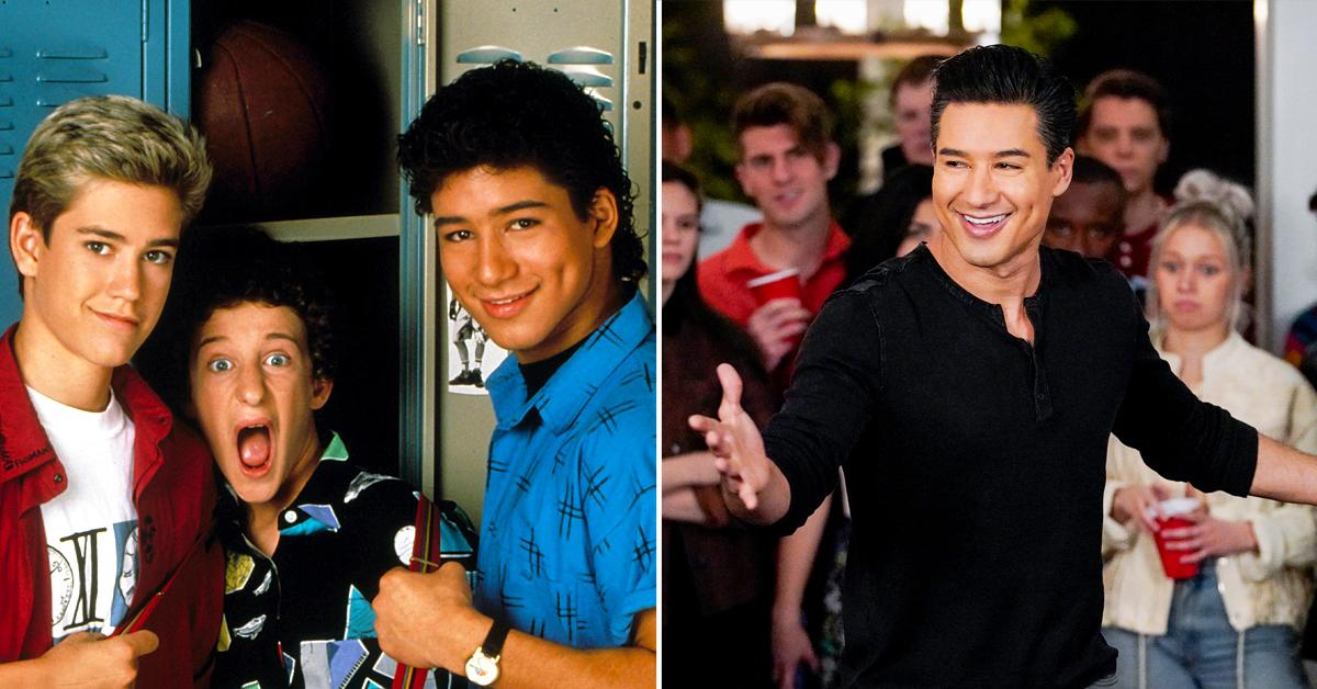 mario lopez admits its a trip saved by the bell is still relevant
