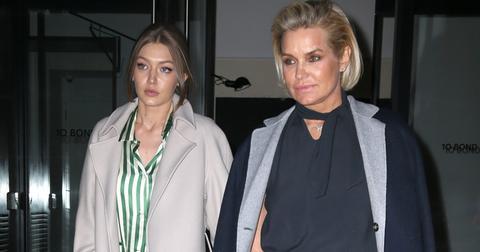 Gigi Hadid and her mom Yolanda head to dinner in the Big Apple