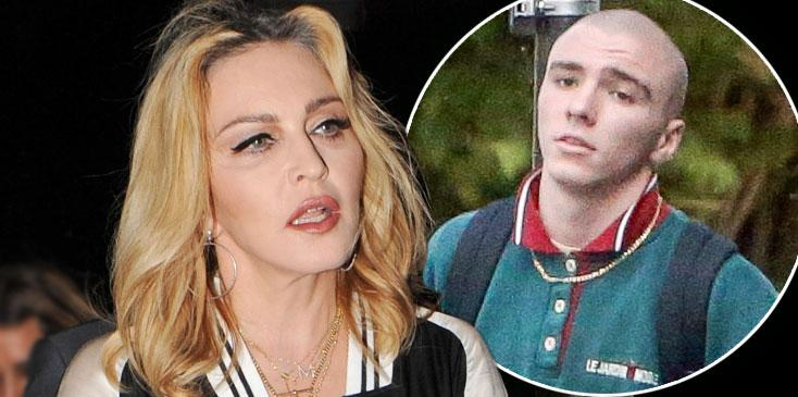 Madonna son rocco ritchie arrested marijuana possession london long