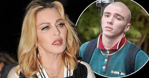 Madonna son rocco ritchie arrested marijuana possession london long