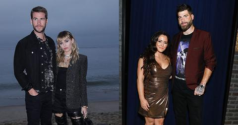 Miley Cyrus And Liam Hemsworth And Jenelle Evans And David Eason Celeb Splits 2019