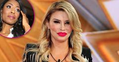 Brandi Glanville stuns in black as she enters the Celebrity Big Brother House