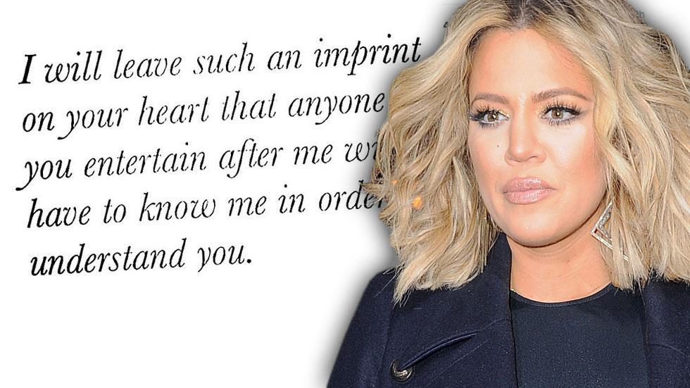 Khloe kardashian cryptic instagram