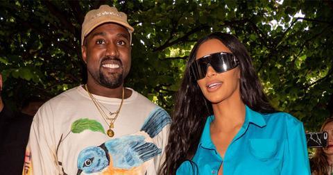 Kim Kardashian Kanye West donate