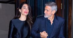 amal clooney celebrates george birthday pics pp