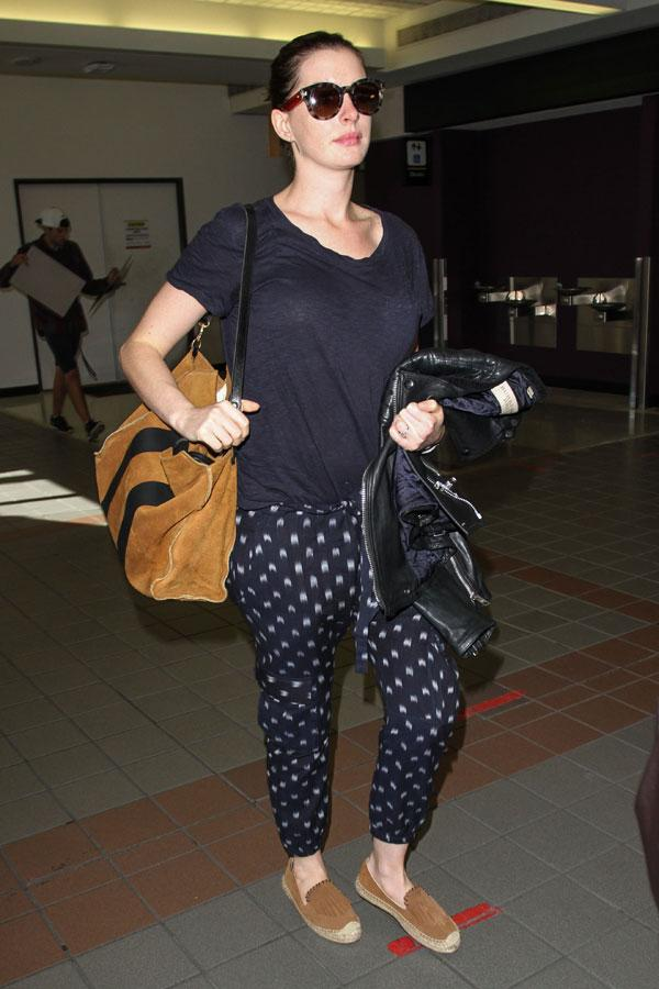 What A Big Baby Bump! All The Times Anne Hathaway Tried To