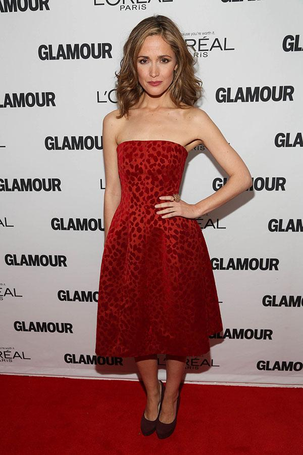 Glamour Woman Of The Year Award Rose Byrne