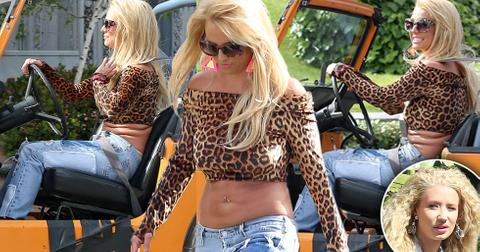 Britney spears iggy azalea filming music video