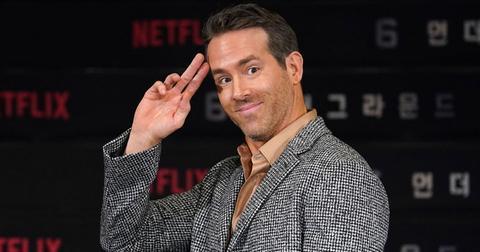 Smiling Ryan Reynolds at '6 Underground' film press conference, Seoul, South Korea - 02 Dec 2019