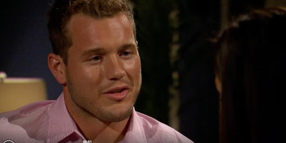 Watch colton finally tell bachelorette becca hes a virgin hero