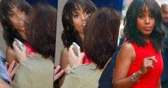 Kerry washington attacked fan gma ambushed