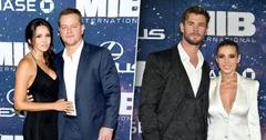 Chris Hemsworth & Elsa Pataky & Matt Damon & Wife