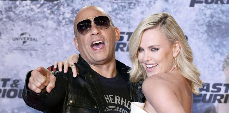 Charlize theron fast furious long