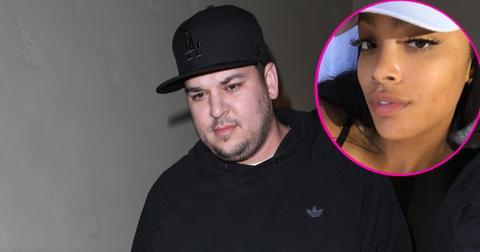 Rob kardashian meghan james dating feature