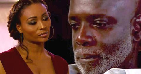 Crying peter thomas fights cynthia bailey marriage issues