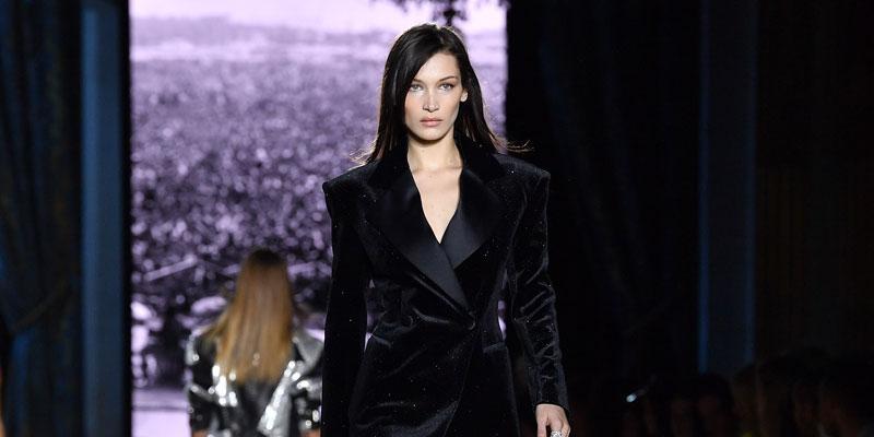 Bella Hadid on the runway
